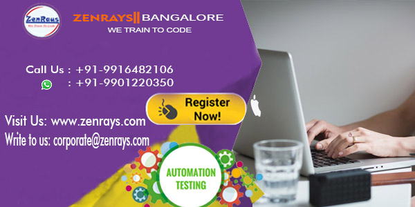 Automation Testing in Bangalore