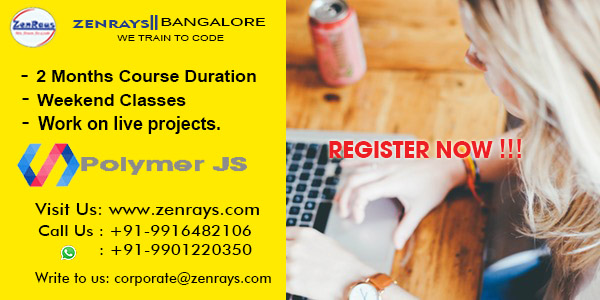 PolymerJS training in bangalore